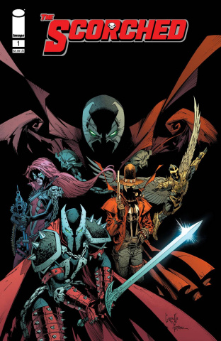 Spawn: The Scorched #1 (Capullo Cover)