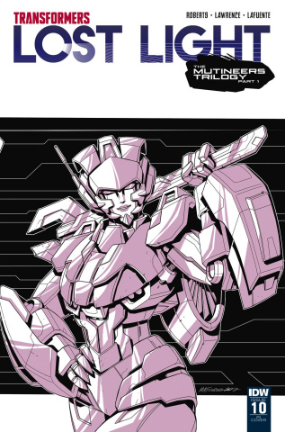 The Transformers: Lost Light #10 (10 Copy Cover)