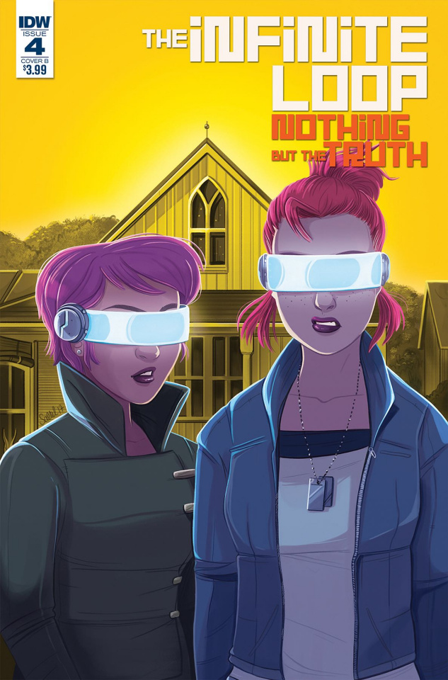 The Infinite Loop: Nothing But the Truth #4 (Saltel Cover)
