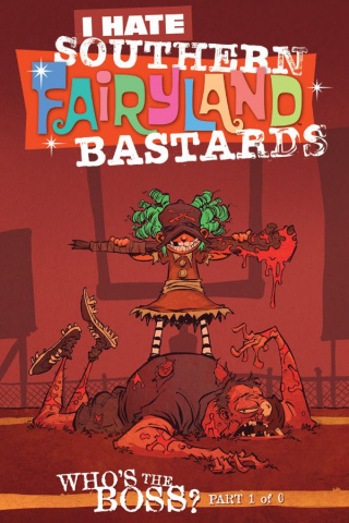 I Hate Fairyland #12 (April Fools Cover)