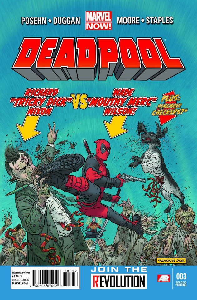 Deadpool #3 (2nd Printing)