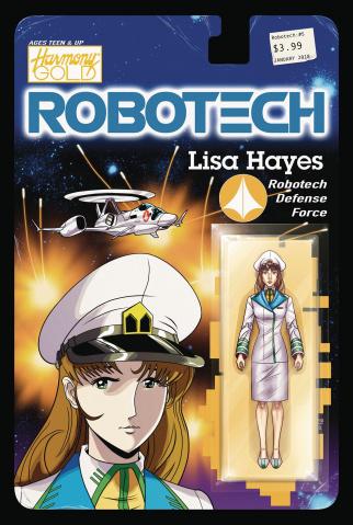 Robotech #5 (Action Figure Cover)