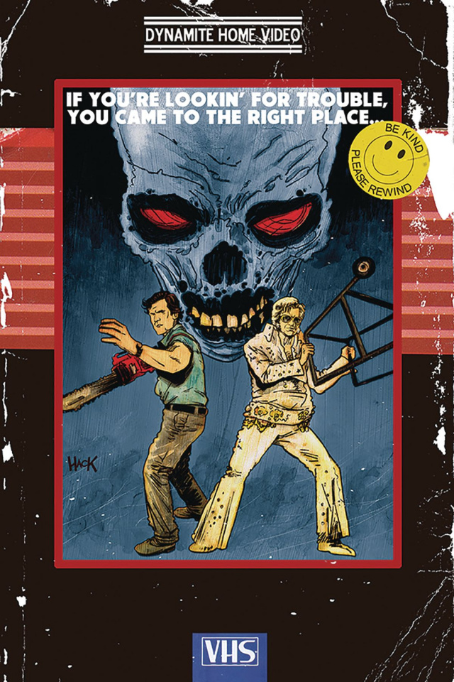 Army of Darkness / Bubba Ho-Tep #2 (20 Copy Hack Virgin Cover)