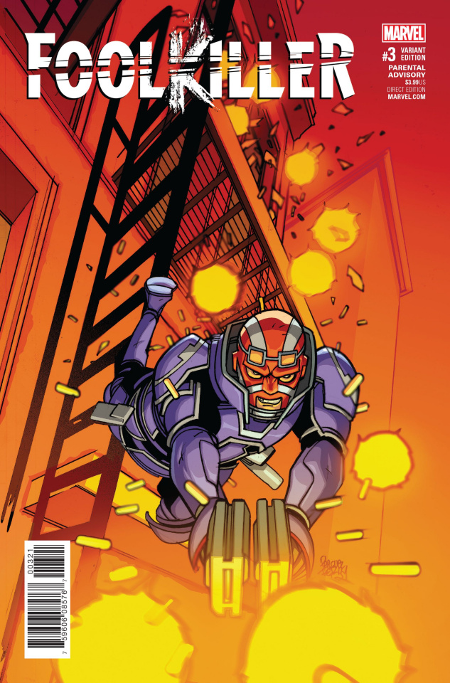 Foolkiller #3 (Ferry Cover)