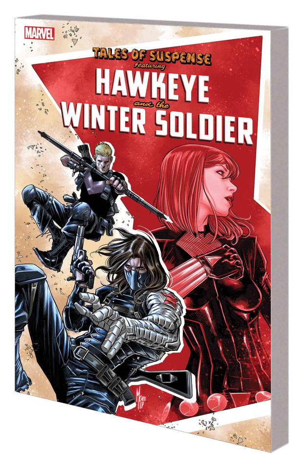 Tales of Suspense: Hawkeye and the Winter Soldier