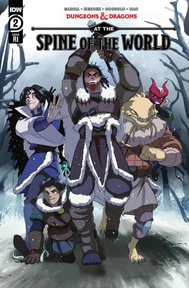 Dungeons & Dragons: At the Spine of the World #2 (10 Copy Cover)