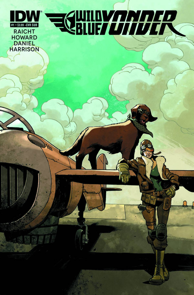 Wild Blue Yonder #1 (Subscription Cover)