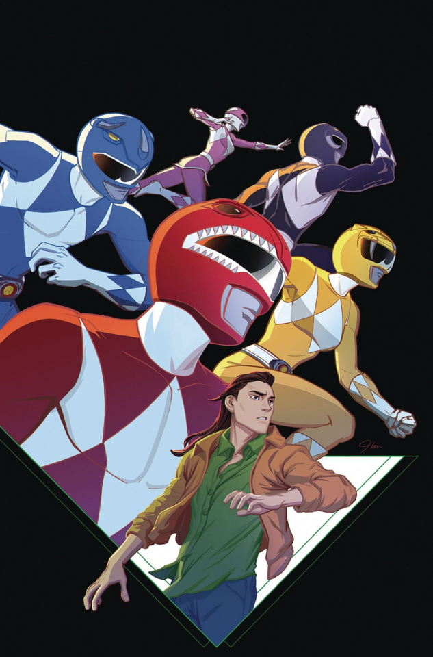Go, Go, Power Rangers! #25 (JLou Cover)