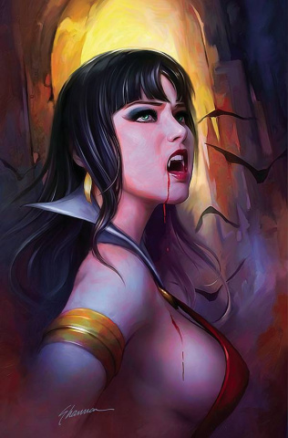 Vampirella #21 (Maer Virgin Cover)