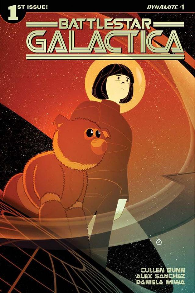 Battlestar Galactica #1 (Doe Cover)