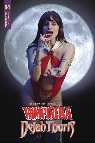 Vampirella / Dejah Thoris #4 (Vampirella Cosplay Cover)