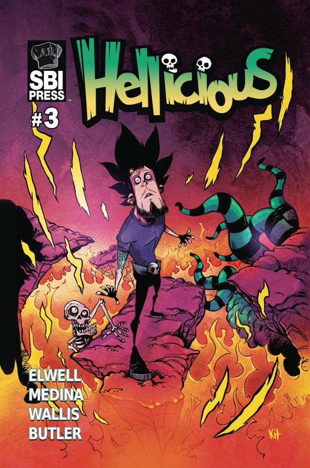 Hellicious #3 (Wallis Cover)