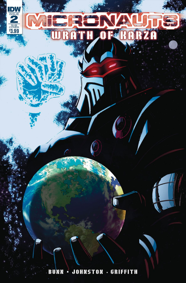 Micronauts: Wrath of Karza #2 (Subscription Cover)
