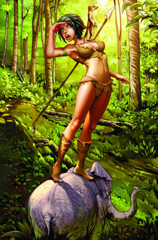 Grimm Fairy Tales: The Jungle Book - Last of the Species #4 (Nunes Cover)