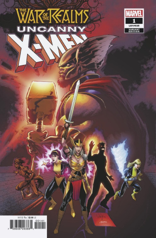 The War of the Realms: Uncanny X-Men #1 (Portacio Cover)