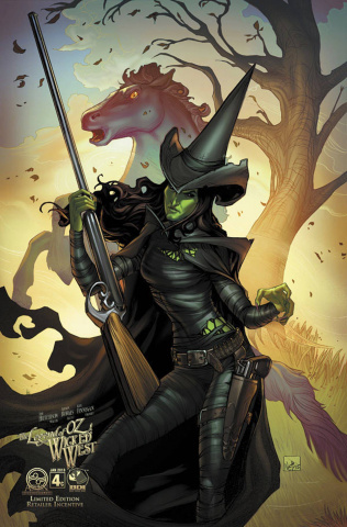 The Legend of Oz: The Wicked West #4 (8 Copy Cover)