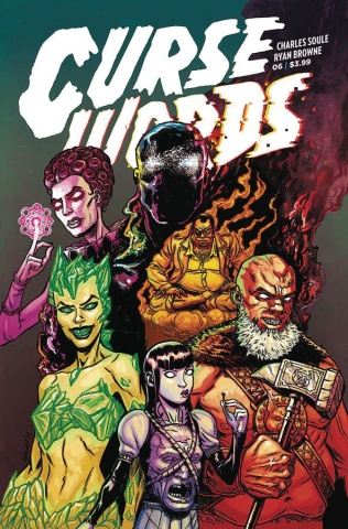 Curse Words #6 (Browne Cover)