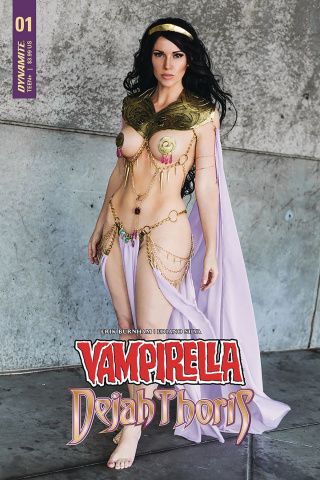 Vampirella / Dejah Thoris #1 (Dejah Thoris Cosplay Cover)