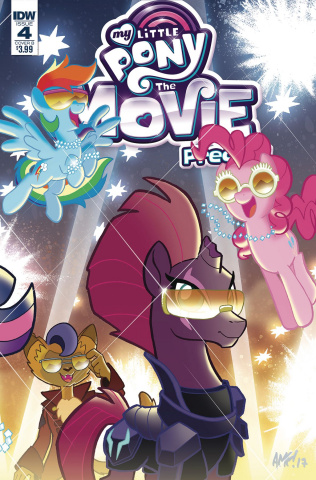 My Little Pony: The Movie Prequel #4 (Fleecs Cover)