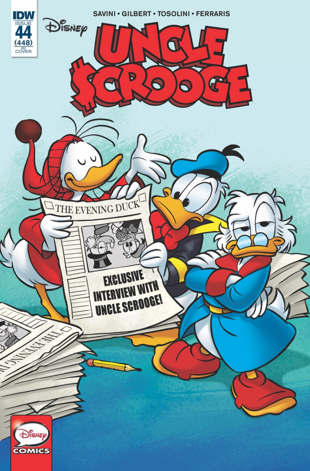 Uncle Scrooge #44 (10 Copy Perina Cover)