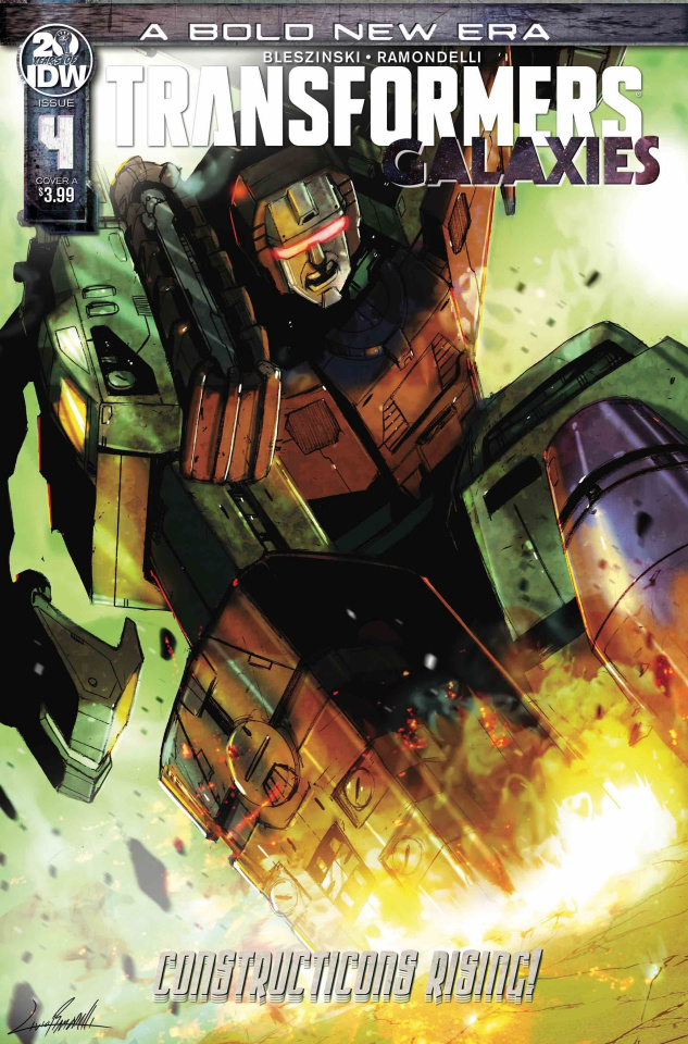 The Transformers: Galaxies #4 (Ramondelli Cover)
