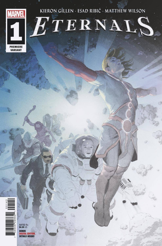 Eternals #1 (Ribic Premiere Cover)