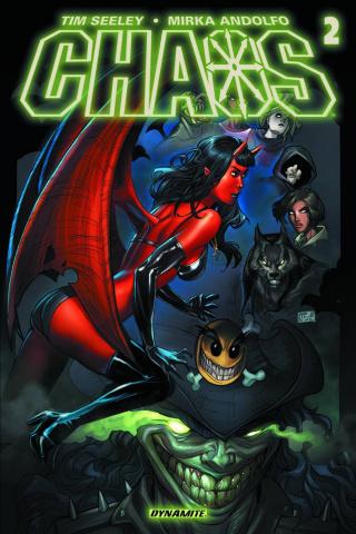 Chaos #2 (Ruffino Cover)