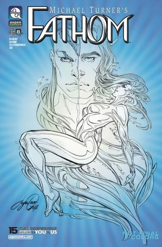 Fathom #8 (Oum Cover)