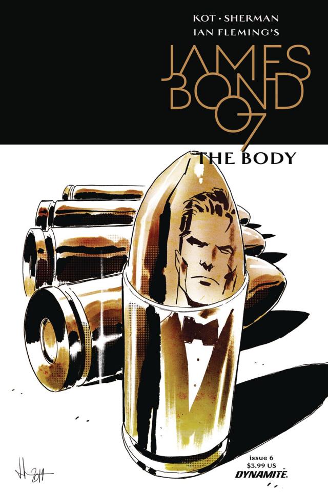 James Bond: The Body #6 (Casalanguida Cover)