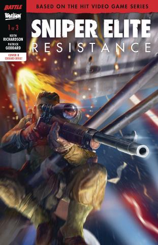 Sniper Elite: Resistance #1 (Groult Cover)