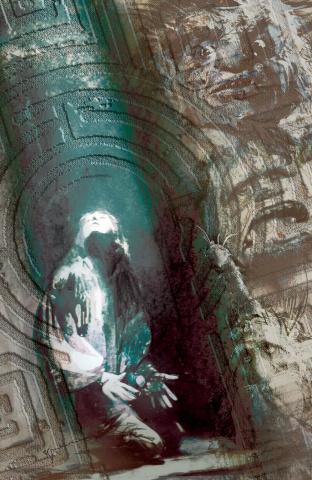 Labyrinth #1 (Coronation 50 Sienkiewicz Cover)