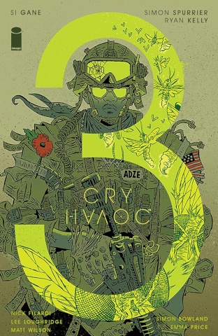Cry Havoc #3 (Gane Cover)