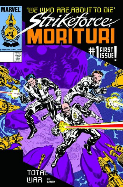 Strikeforce Morituri: We Who Are About To Die #1