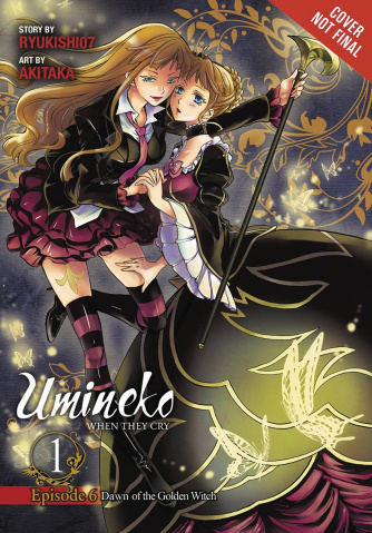 Umineko: When They Cry Ep. 6, Vol. 1: Dawn of the Golden Witch