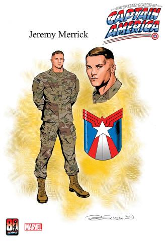 The United States of Captain America #5 (Eaglesham Design Cover)