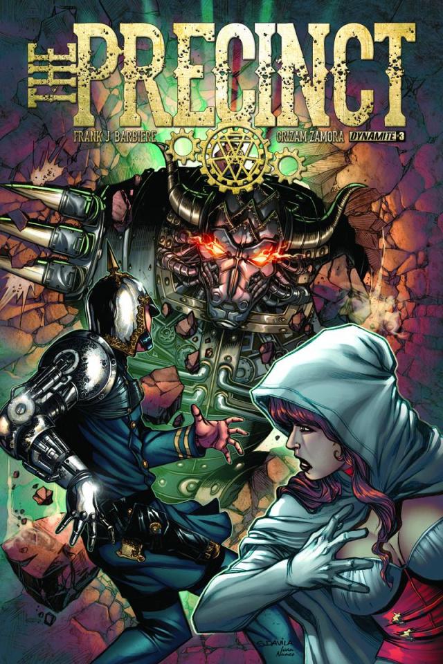 The Precinct #3 (Davila Cover)