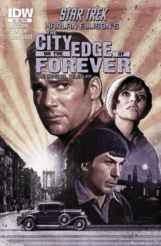 Star Trek: The City on the Edge of Forever #3 (Subscription Cover)