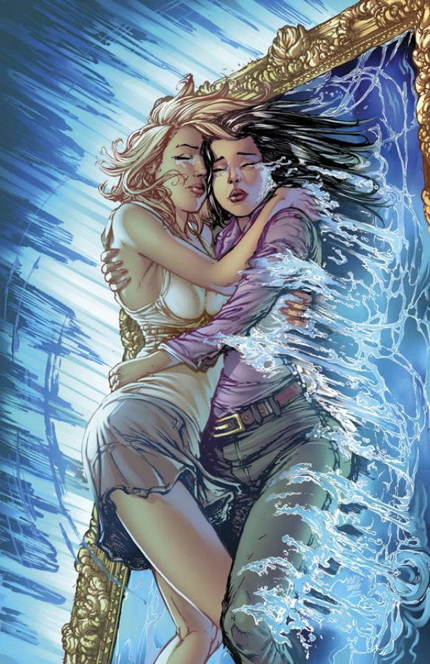 Grimm Fairy Tales: Wonderland #24 (Leister Cover)