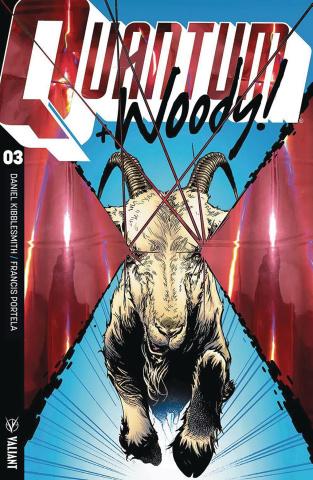 Quantum & Woody #3 (Ultra Foil Shaw Cover)