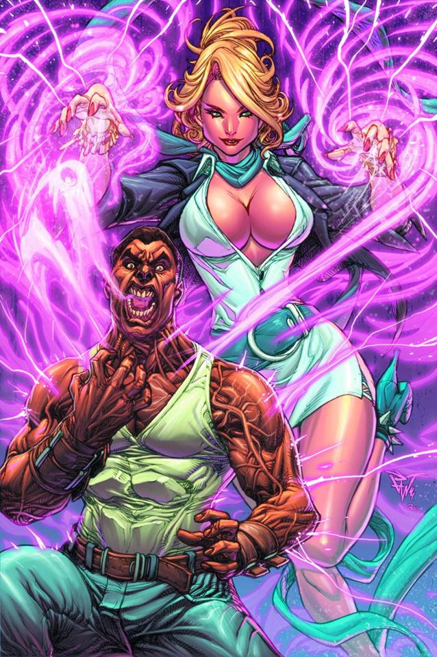 Grimm Fairy Tales: Godstorm - Hercules Payne #4 (Pantalena Cover)
