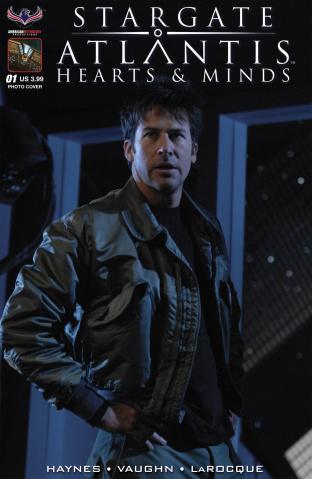 Stargate Atlantis: Hearts & Minds #1 (Limited Dan Parsons B/W Cover)