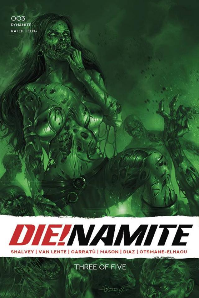 DIE!namite #3 (21 Copy Parrillo Tint Cover)