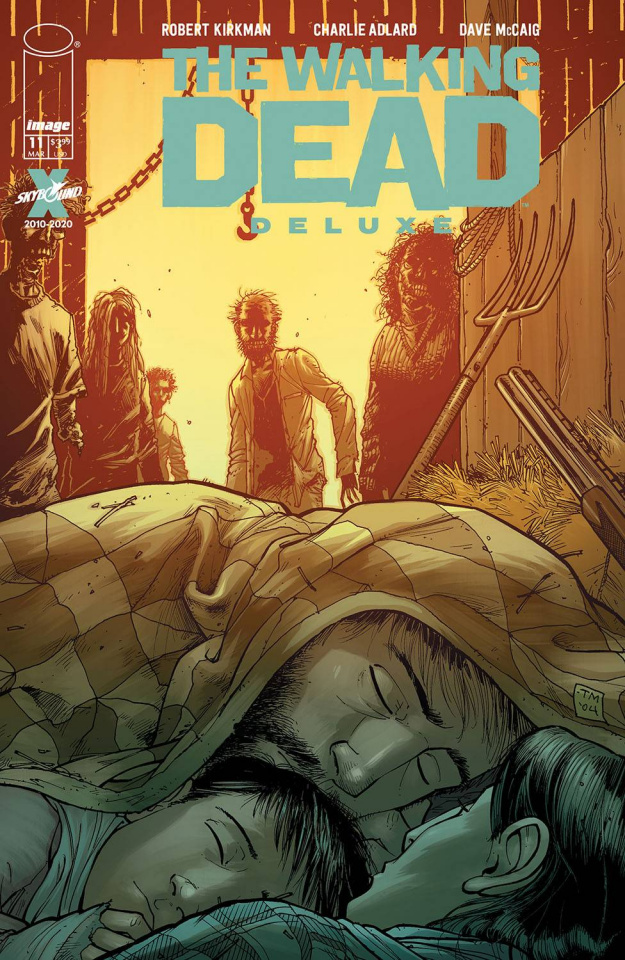 The Walking Dead Deluxe #11 (Moore & McCaig Cover)