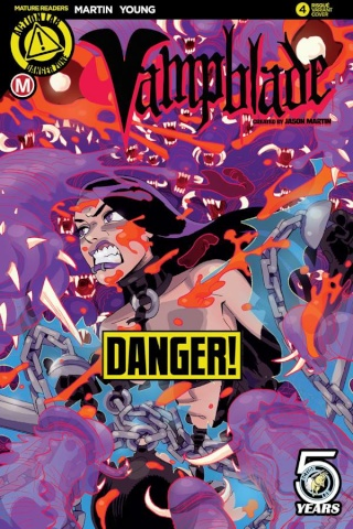 Vampblade #4 (Winston Young Risque Cover)