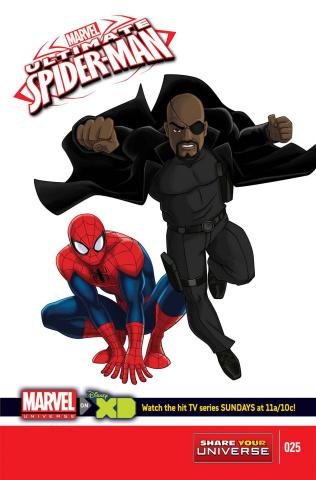 Marvel Universe: Ultimate Spider-Man #25