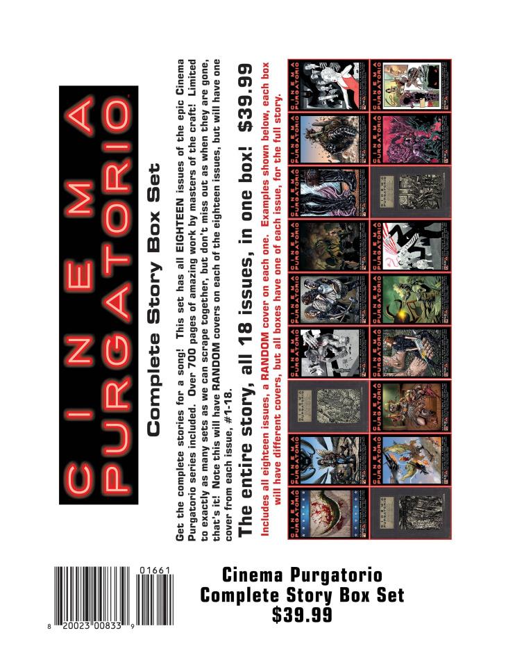 Cinema Purgatorio Complete Story Box Set