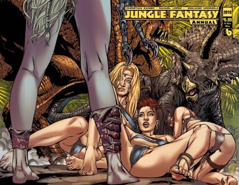 Jungle Fantasy Annual 2019 (Tri-Sara Wrap Cover)
