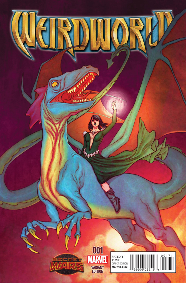 Weirdworld #1 (Frison Cover)
