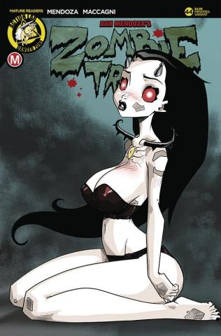 Zombie Tramp #44 (Mendoza Cover)