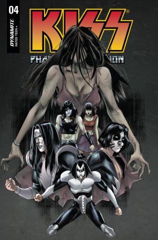 KISS: Phantom Obsession #4 (Celor Cover)